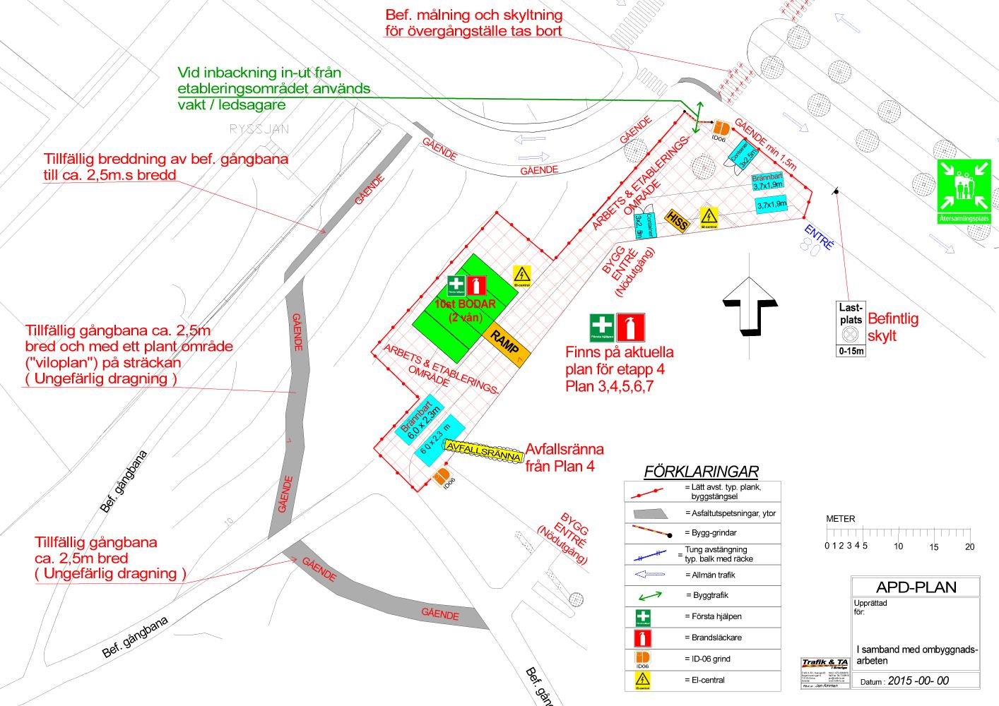 Trafik & TA – APD-planer